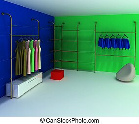 dressing room should be in any woman,