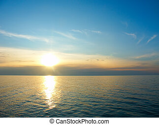 Lake Superior Sunset - A beautiful sunset over Lake Superior...