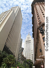 Buildings in Downtown Sao Paulo - Buildings in Downtown Sao...