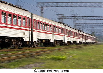 High speed passenger train