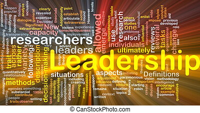 Leadership is bone background concept glowing - Background...