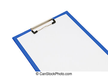 clipboard isolated on a white background...