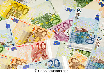 euro - background from euro...