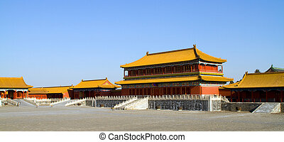 Forbidden City - the Forbidden City of Qing, Ming Dynasty in...