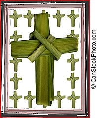 box of palm crosses