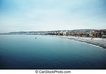 Nice riviera - Photo of the Nice riviera