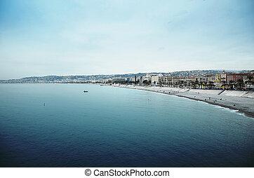 Nice riviera - Photo of the Nice riviera