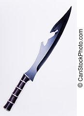 pretas, lâmina, espada