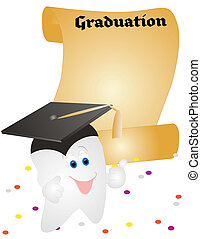 Tooth graduating in life - Graduating from Dentistry or the...