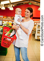 Grocery Store Baby