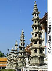 Wat Suthat in Bangkok, Thailand