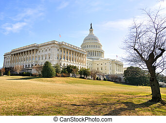 Capitol Hill Building ,Washington DC