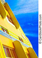 Art Deco Building - colorful art deco building