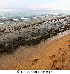 Steps Beach - Puerto Rico - View of Steps Beach near Rincon...
