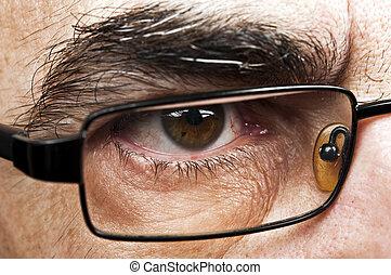 Male eye