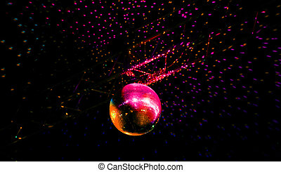 Disco lights mirror sphere - The Disco lights mirror sphere...