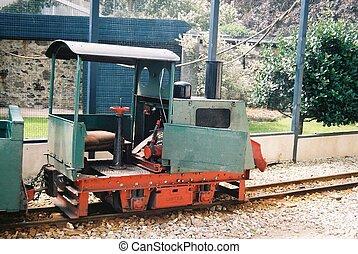 vendimia, Diesel, ferrocarril, locomotora