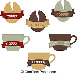 Coffee Elements For Design