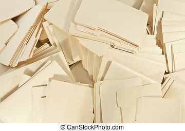 File Pile Background