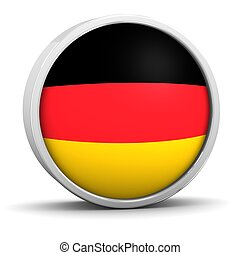 German flag. Part of a series.
