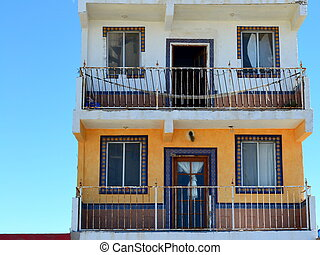 Beach Apartments Mexico - 2 floors of a 3 story apartment on...