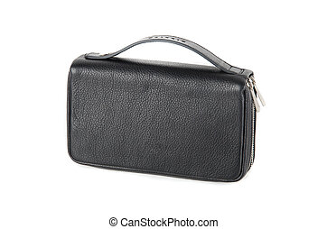 black male bag isolated on a white background
