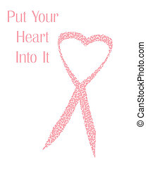 my pink ribbon