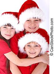 Santa Claus kids
