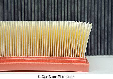 air filter and the cabin filter - air filter in the...