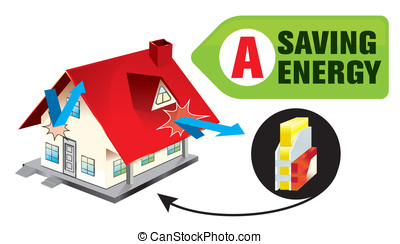 energy seving - building insulation