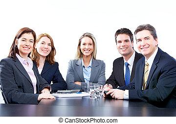 人々, ビジネス, チーム