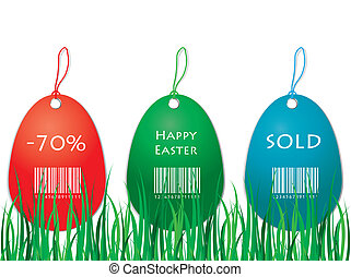Easter price tag