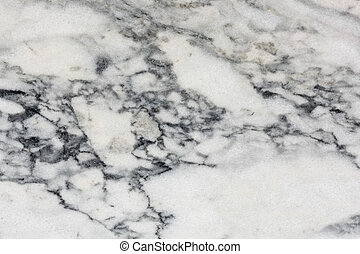Surface of polished Marble Slab - Close-up of beautiful...