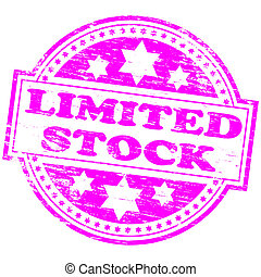 Limited Stock Stamp