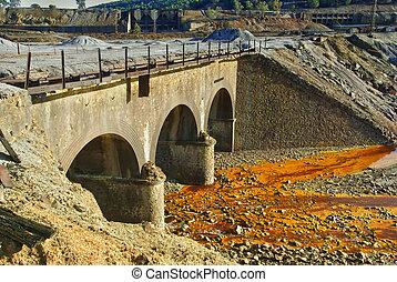 viejo, Puente, -, Riotinto