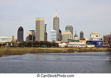City of Indianapolis. Indiana, USA.