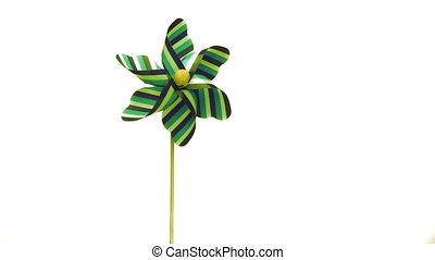 Pinwheel for children - Childrens windmill turning in the...