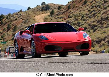 sports car - luxury sports car