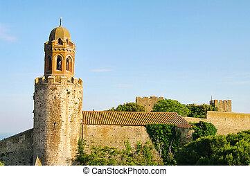 Castiglione della Pescaia castle 01