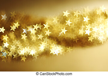 golden star bokeh background - golden star bokeh background...
