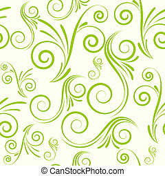Seamless ornament from swirls - Swirls seamless ornament in...