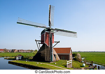 Windmill - Holland - Classic windmill in Holland