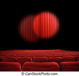 Película, teatro
