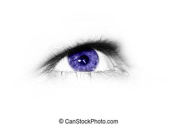 Isolated eye