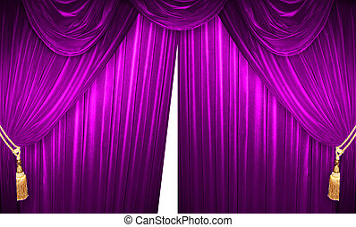 Noble Theater Curtains - curtain of a classical theater