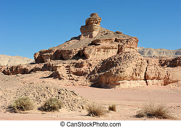 Timna National Park - landscapes and geological formations...