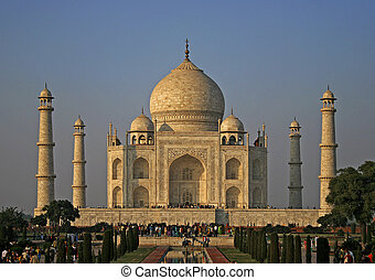 Taj Mahal - Great mosque Taj Mahal in India