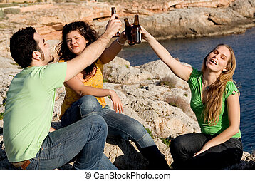 underage teens drinking alcohol
