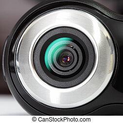 Web cam - Close up of a web cam