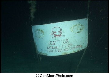 cave warning underwater diving vide - underwater diving...